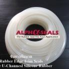 White Silicone Rubber Edge Trim Seals