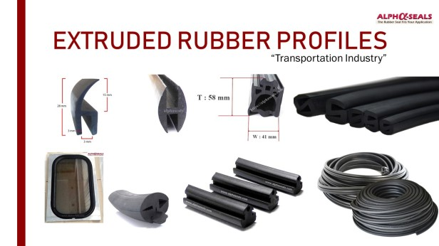 Extruded Rubber Profiles - Transportation Industry