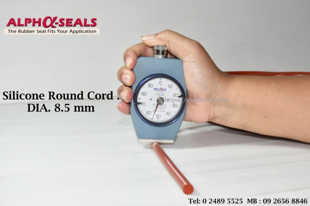 Silicone Round Cord 55 Shore A